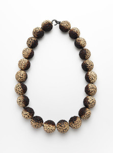 Burnt-Quandong-Necklace , quandong fashion