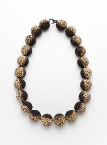 Burnt-Quandong-Necklace , quandong fashion