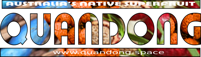 Quandong ~ Australia's Native Peach ! Logo